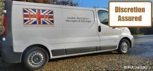 PLR Ltd - Discretion assured - no mention of Japanese knotweed on our corporate vans