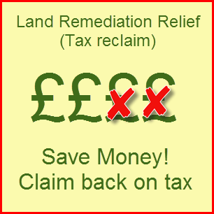 PLR Ltd - Land Remediation Relief - claim back on tax for clearing Japanese knotweed
